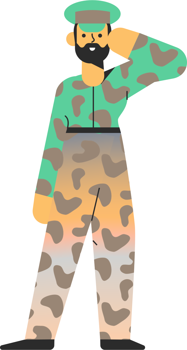 military Clipart illustration in PNG, SVG