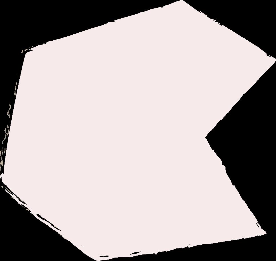 polygon-light-pink Clipart illustration in PNG, SVG