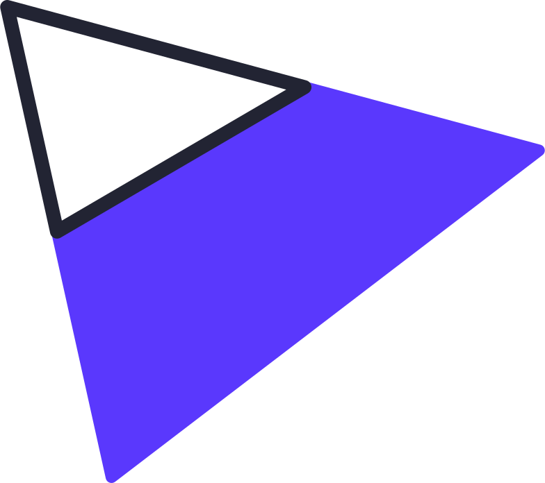 triangle full Clipart illustration in PNG, SVG