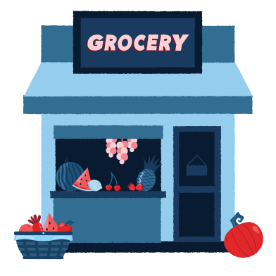 style 食料品店 images in PNG and SVG | Icons8 Illustrations