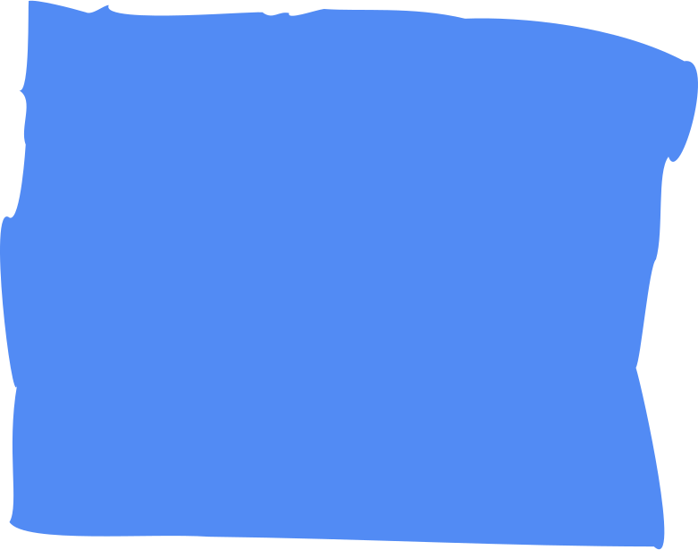 cornflower rectangle Clipart illustration in PNG, SVG