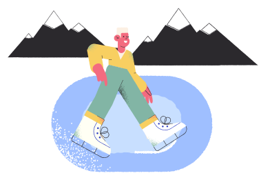 style Ice skating images in PNG and SVG | Icons8 Illustrations