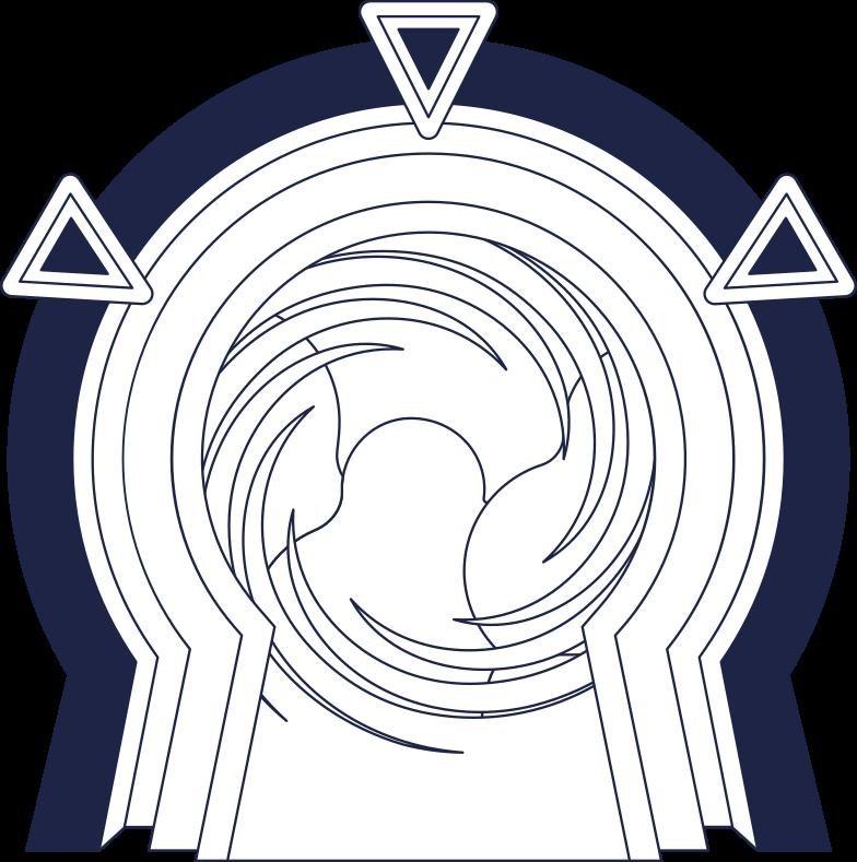 gate line Clipart illustration in PNG, SVG