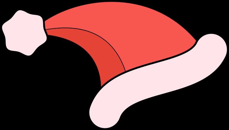 santa hat Clipart illustration in PNG, SVG