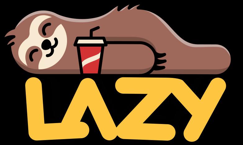 lazy Clipart illustration in PNG, SVG