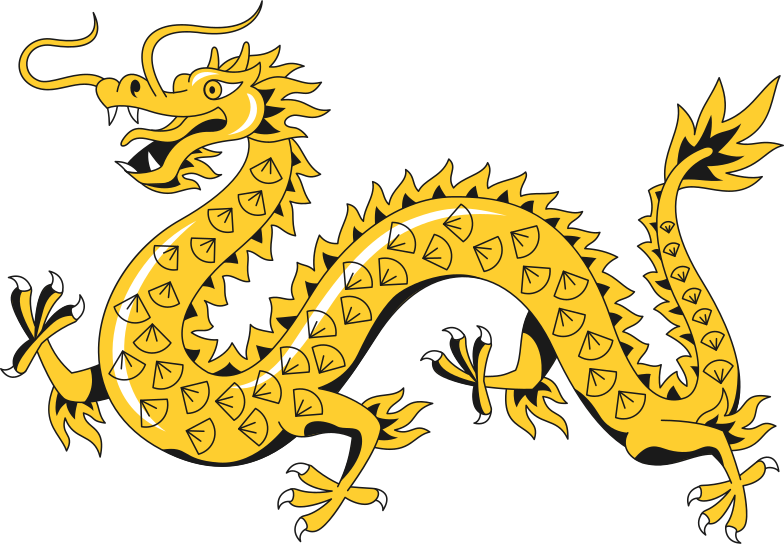 chinese dragon Clipart illustration in PNG, SVG