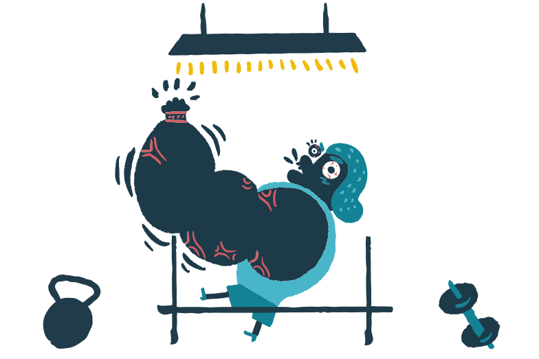Getting stronger Clipart illustration in PNG, SVG
