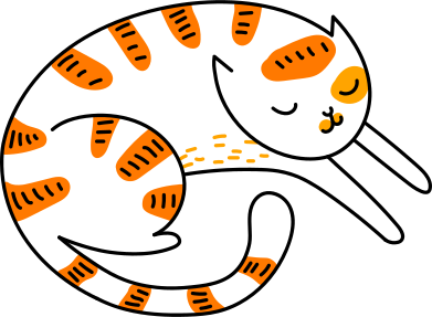 style sleeping cat images in PNG and SVG | Icons8 Illustrations