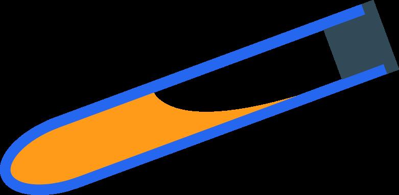 test-tube Clipart illustration in PNG, SVG