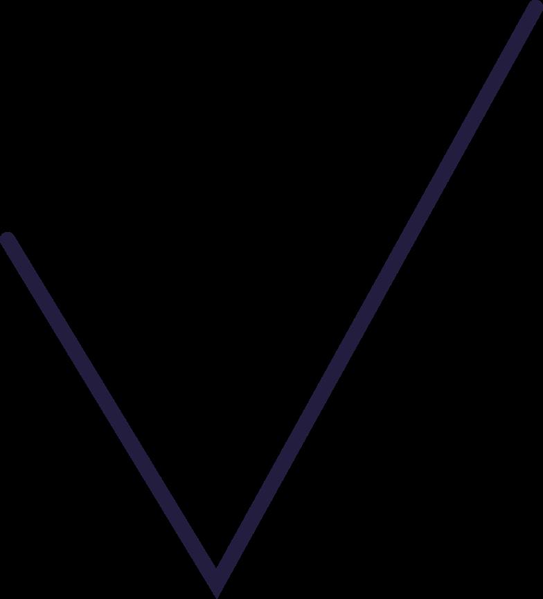 Häkchen gemacht Clipart-Grafik als PNG, SVG