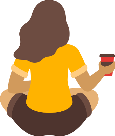 style woman with coffee images in PNG and SVG | Icons8 Illustrations
