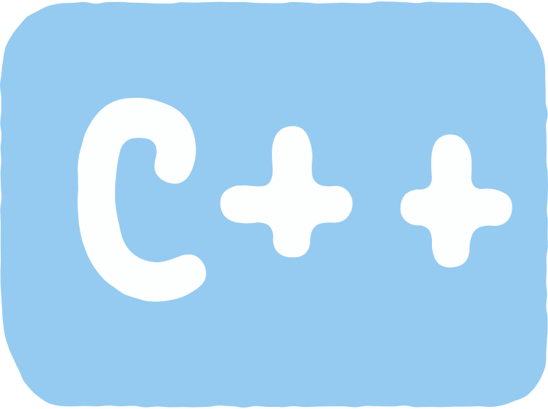 c++ Clipart illustration in PNG, SVG