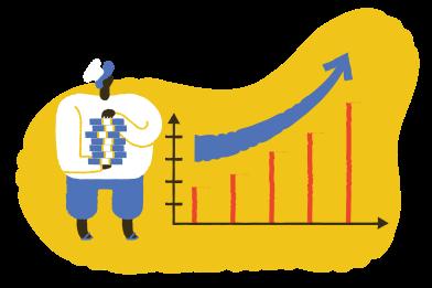 Иллюстрация учет валют в стиле  в PNG и SVG | Icons8 Иллюстрации