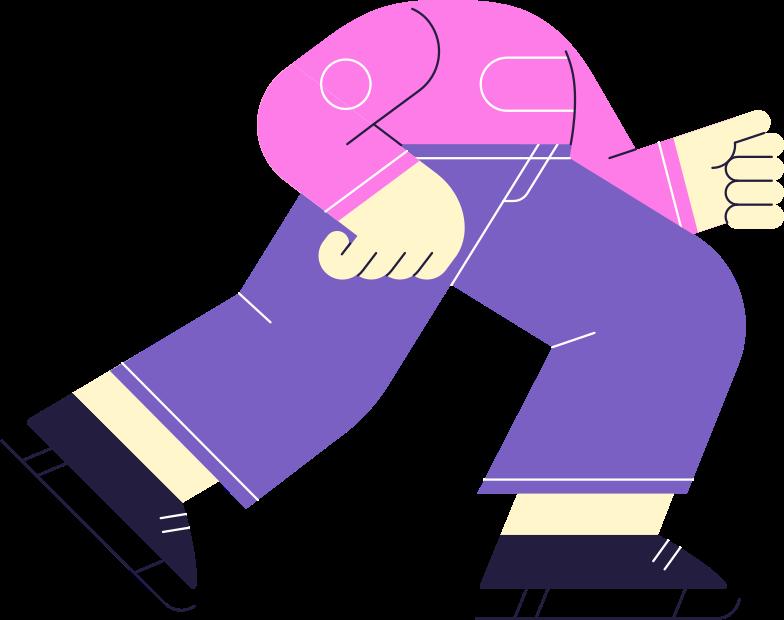 Hockeyspieler körper Clipart-Grafik als PNG, SVG