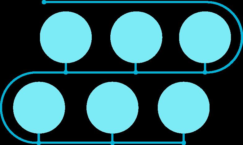 Иллюстрация временная шкала e blue gls в стиле  в PNG и SVG | Icons8 Иллюстрации