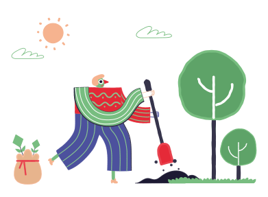 style Landscaping images in PNG and SVG | Icons8 Illustrations