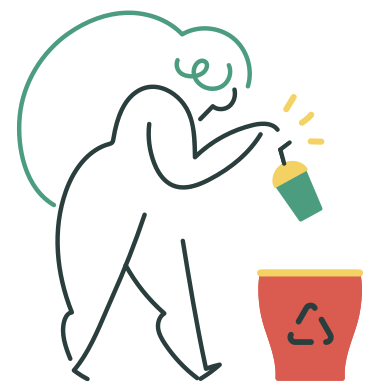 style Recycling waste images in PNG and SVG | Icons8 Illustrations