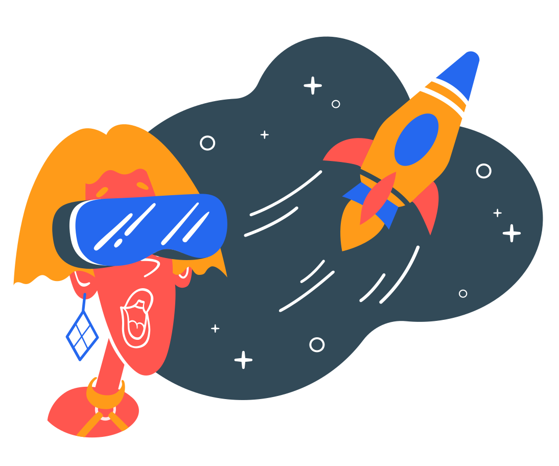 style VR planetarium Vector images in PNG and SVG | Icons8 Illustrations