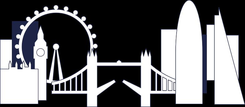 london background line Clipart illustration in PNG, SVG