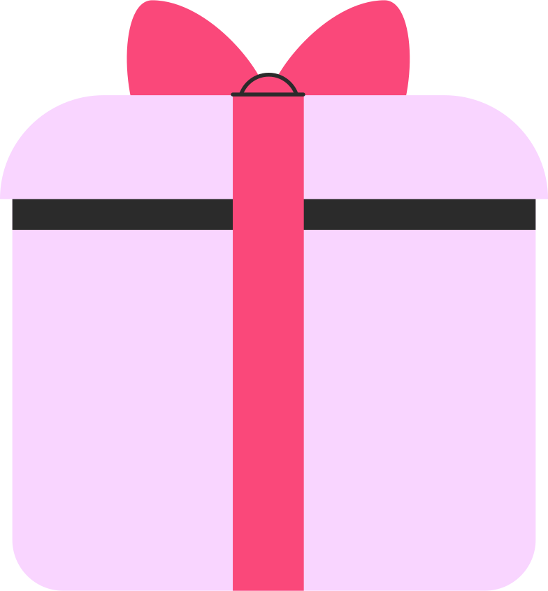 present round box Clipart illustration in PNG, SVG