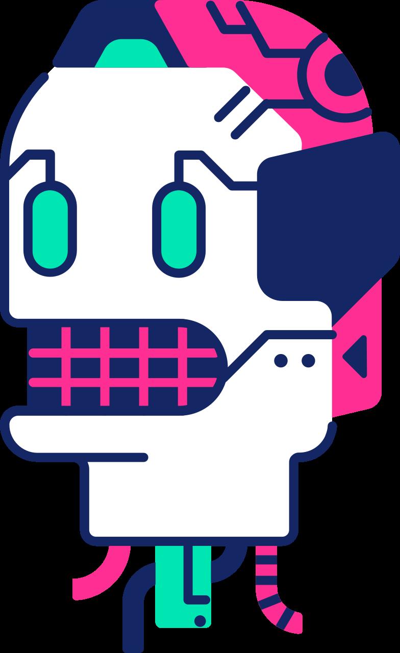 Imágenes vectoriales cabeza robot en PNG y SVG estilo  | Ilustraciones Icons8