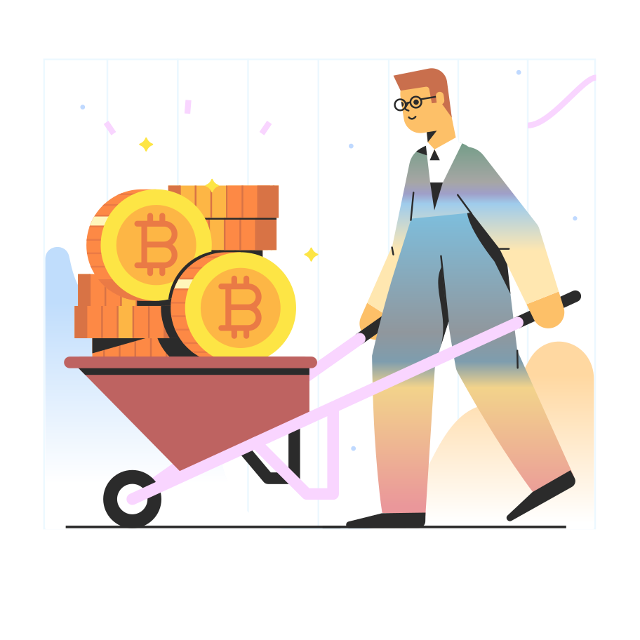 style Bitcoin mining Vector images in PNG and SVG | Icons8 Illustrations