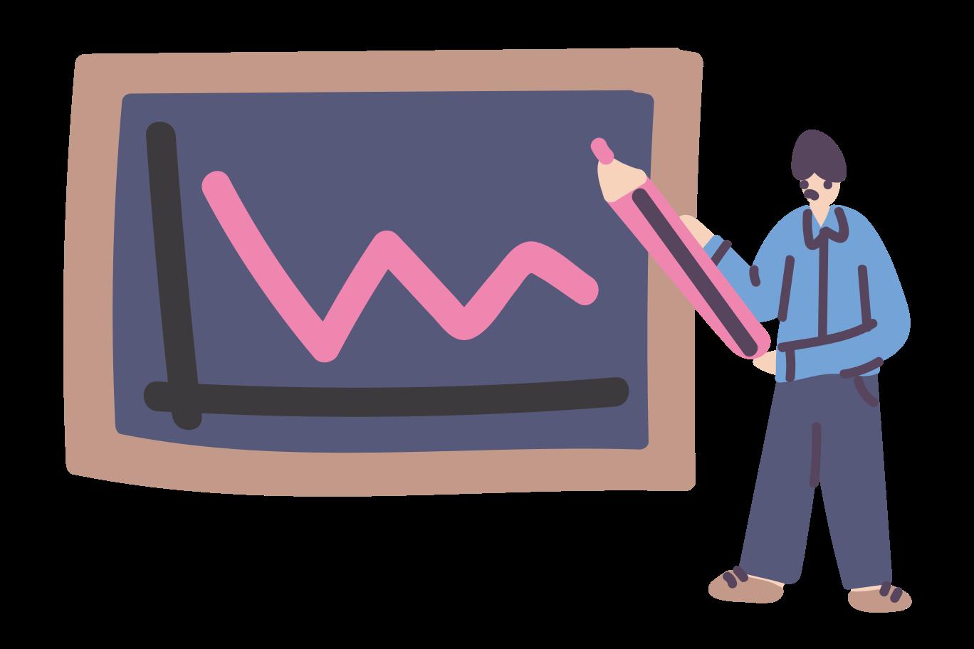 Presentation Clipart illustration in PNG, SVG