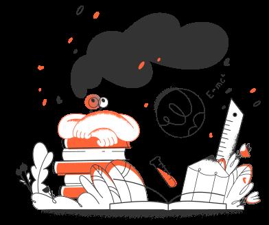 Иллюстрация Образование в стиле  в PNG и SVG | Icons8 Иллюстрации