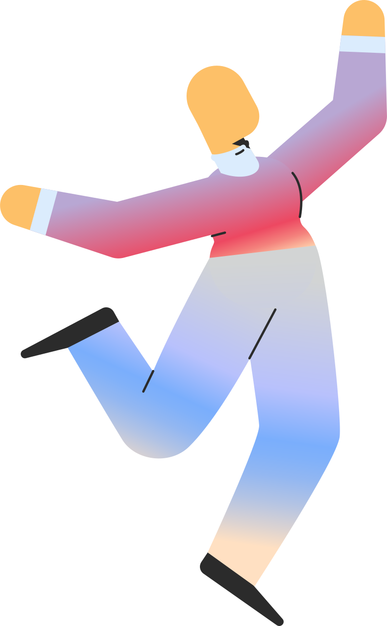 adult jumping Clipart illustration in PNG, SVG