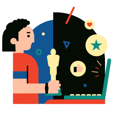 style Oscar images in PNG and SVG | Icons8 Illustrations
