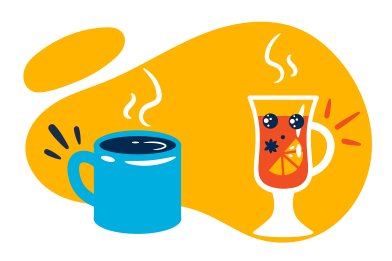 style Hot winter drinks images in PNG and SVG | Icons8 Illustrations