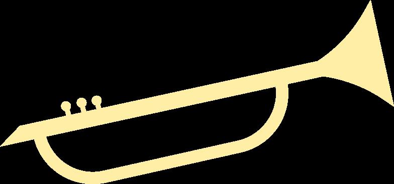 musical trumpet Clipart illustration in PNG, SVG