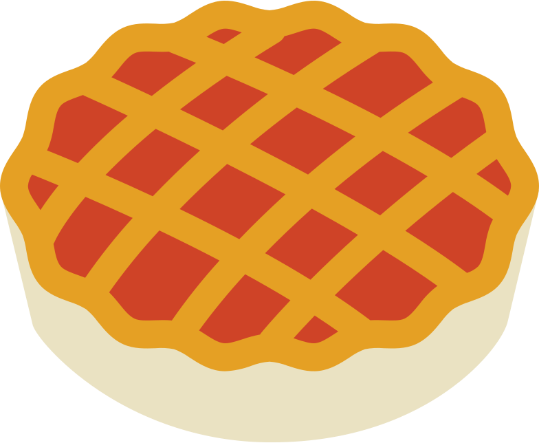 pie Clipart illustration in PNG, SVG