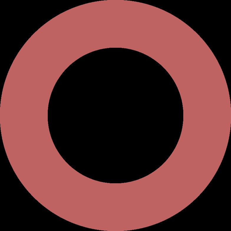 ring burgundy Clipart illustration in PNG, SVG