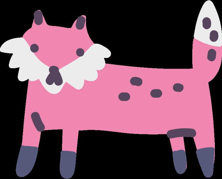 Ilustración de clipart de zorro en PNG, SVG