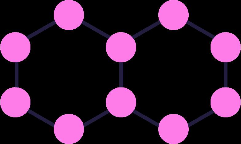 molecules Clipart illustration in PNG, SVG