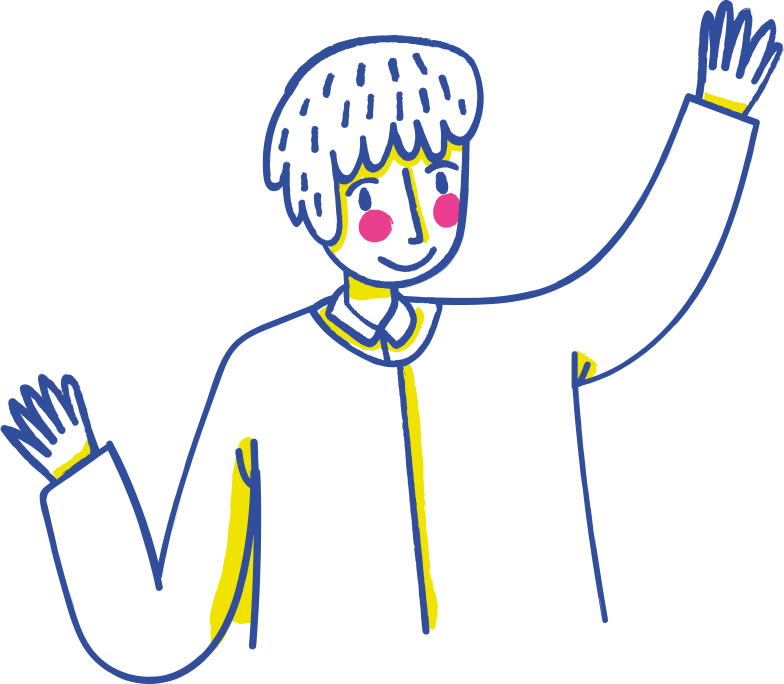happy man Clipart illustration in PNG, SVG