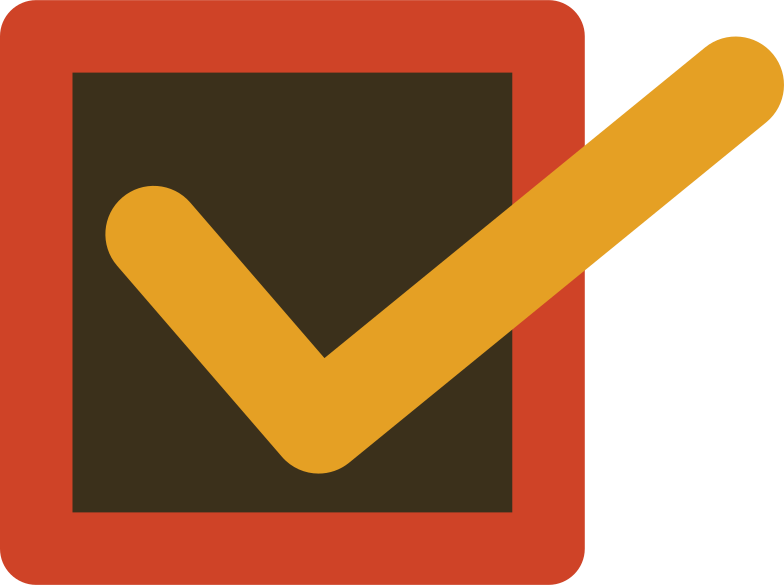 checkmark Clipart illustration in PNG, SVG