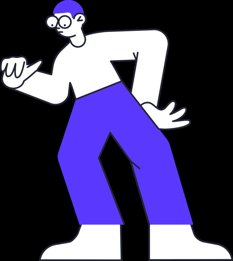 holding man Clipart illustration in PNG, SVG