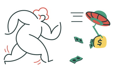 style Stolen wallet images in PNG and SVG | Icons8 Illustrations
