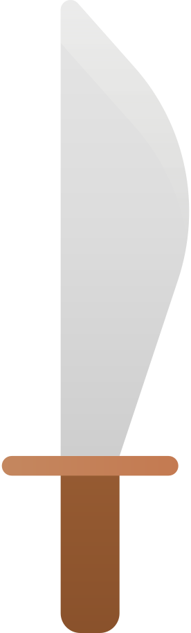 machete Clipart illustration in PNG, SVG