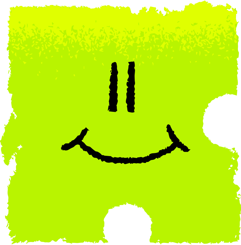 puzzle face Clipart illustration in PNG, SVG