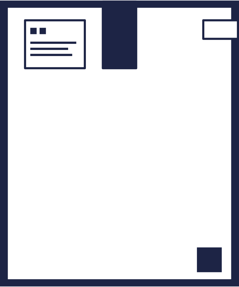 box 7 line Clipart illustration in PNG, SVG