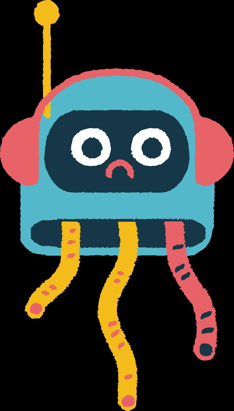 robot octopus Clipart illustration in PNG, SVG