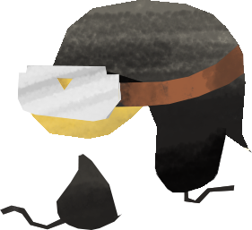 pilot's hat Clipart illustration in PNG, SVG