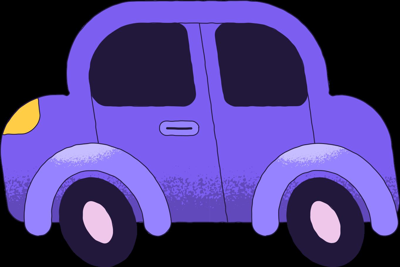 Ilustración de clipart de Coche en PNG, SVG