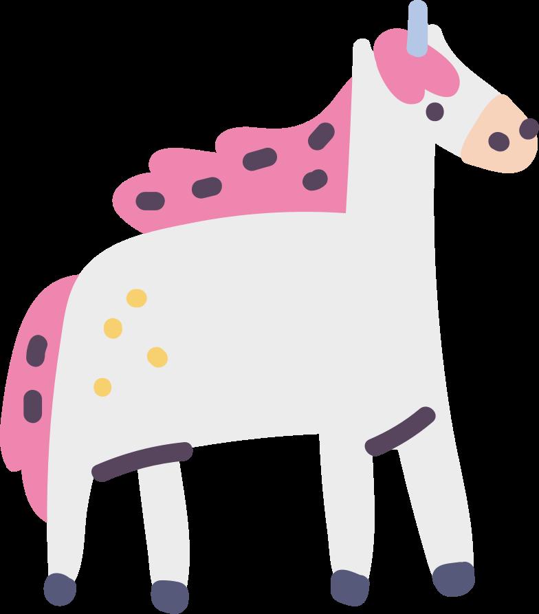 Unicorno Illustrazione clipart in PNG, SVG