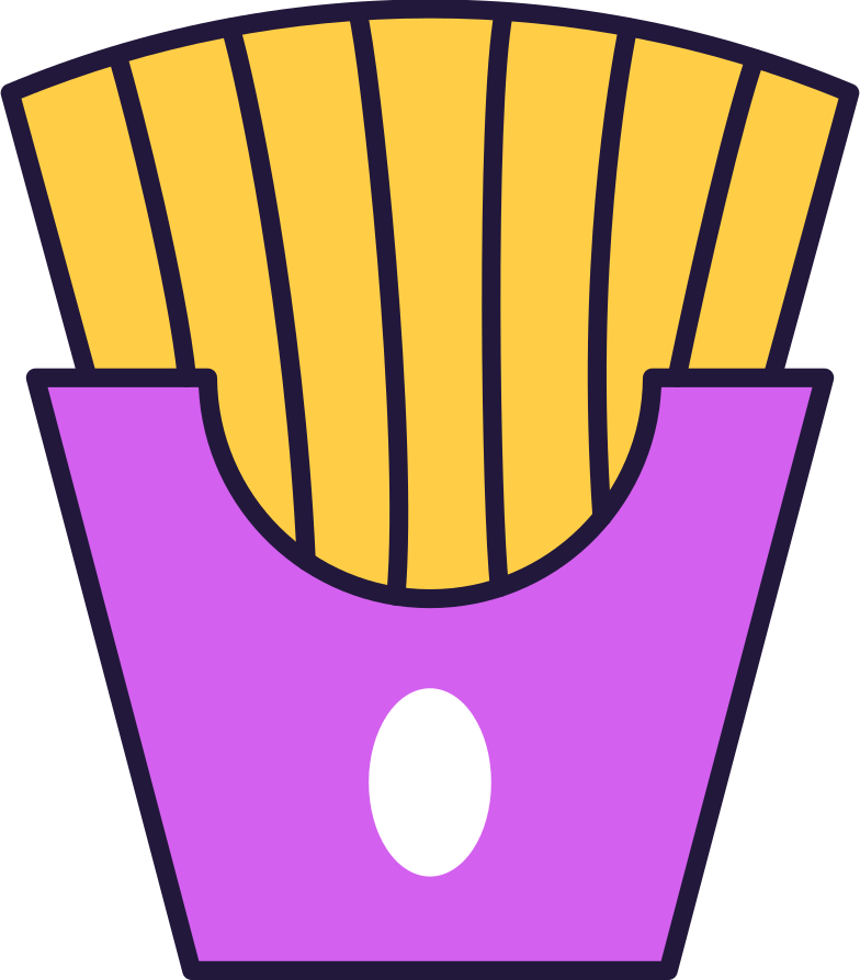 fries Clipart illustration in PNG, SVG