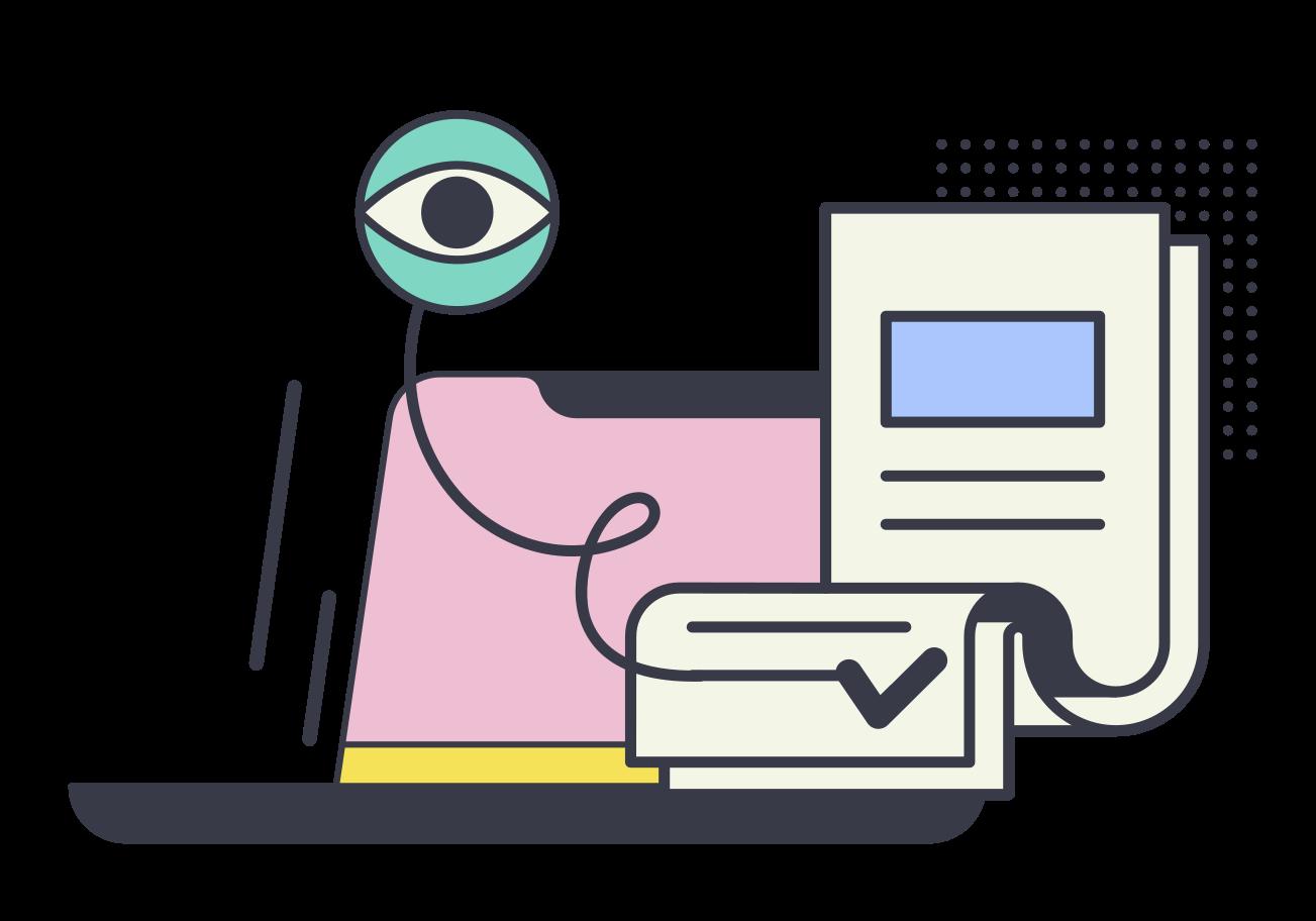 EULA Clipart illustration in PNG, SVG