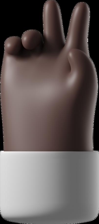 Ilustración de clipart de victoria en PNG, SVG